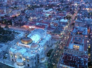 mexico city night