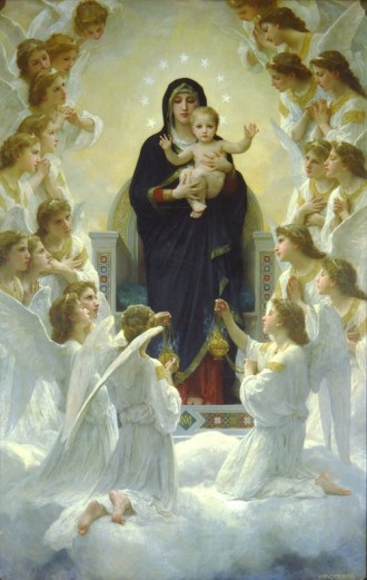 Bouguereau, The Virgin With Angels